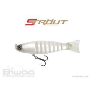Vobler Swimbite Strout Pearl White 16cm / 52g Biwaa