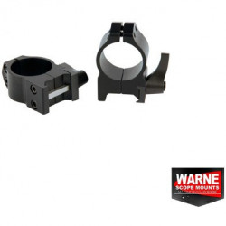 Set inele prindere luneta 30mm Quick Weaver obiectiv 36-42mm Warne