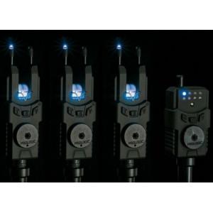 Set 3 avertizori electronici + statie WTS Blue Prologic