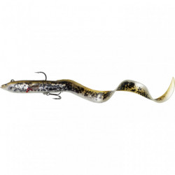 Shad Savage Gear 4D Real EEL, Olive Pearl PHP 20cm, 38g