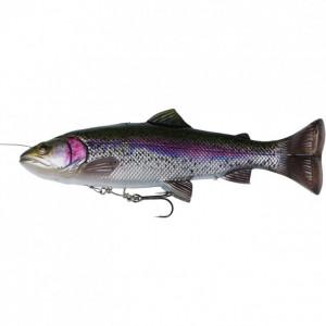Shad Savage Gear 4D Line Thru Pulsetail Trout, 16cm, 51g Rainbow