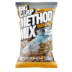 Big Carp Method Mix Tiger & Peanut 2kg Bait-Tech