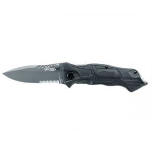 Briceag negru Tac Pro lama 87cm Walther