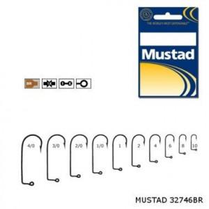 Carlig bronz pentru twister Mustad -100buc/plic (M.32746BR)