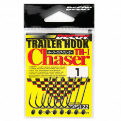 Carlige Decoy Trailer Hook Chaser, 5buc