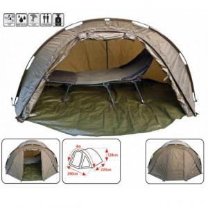Cort camping T1 pentru 2 persoane Baracuda