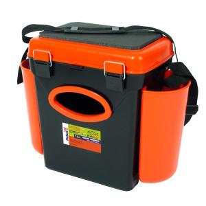 Cutie Pescuit Iarna 1 compartiment Orange 10L Helios
