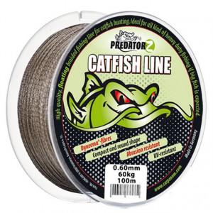 Fir textil Predator Z Catfish maro 100m Carp Zoom