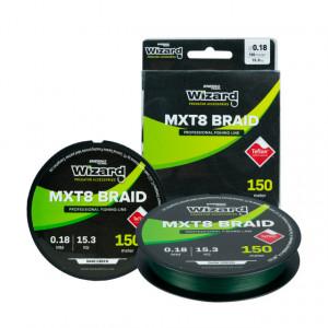 Fir textil Wizard MTX8 Braid Dark Green, 150m
