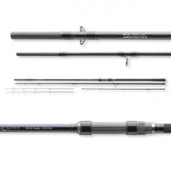 Lanseta Aqualite Light Feeder 3,90m / 120g / 3+2buc Daiwa