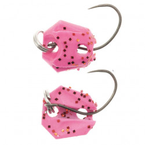 Lingurita oscilanta Neo Style Premium, 81 Dark Pink Glow Flame, 1.8g