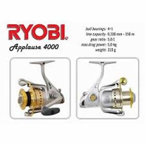 Mulineta Spinning Applause 4000 Ryobi