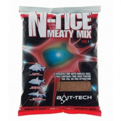 Nada N-Tice Meaty Mix 1kg Bait-Tech