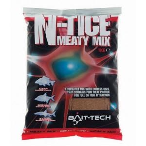 Nada N-Tice Meaty Mix 1kg Bait-Tech