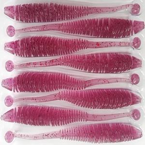 Naluca Evoke Worm UV Purple 10cm, 8buc/plic Rapture