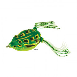 Naluca Soft Dancer Frog Green 6.5cm/16gr Rapture