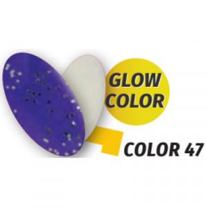 Oscilanta Herakles Leaf, Culoare Glow 47 - Viola Glow, 0.9 g