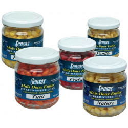 Porumb Sensas borcan  212ml Halibut