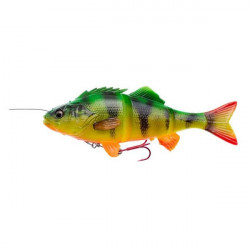 Shad 4D Line Thru Perch Firetiger 17cm/63g Savage Gear