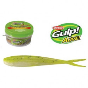 Shad Gulp Alive Minnow 7,5cm/ fluo/ 36buc Berkley