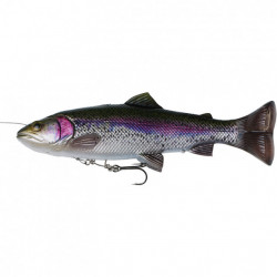 Shad Savage Gear 4D Line Thru Pulsetail Trout, 16cm, 51g Rainbow