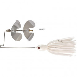 Spinnerbait Snipper Buzzer White 14g Rapture