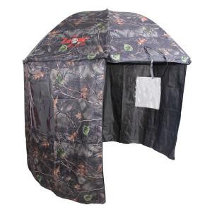 Umbrela cu parasolar camou 250cm Carp Zoom