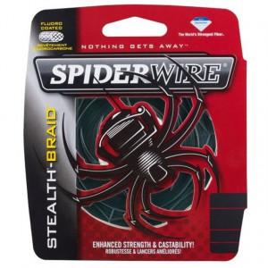 Fir textil Spiderwire Stealth rosu 110m Berkley