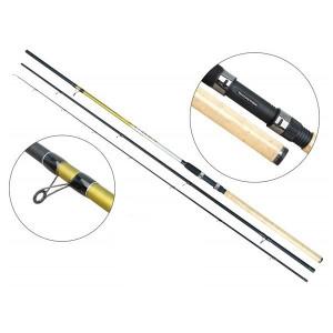 Lanseta fibra de carbon Cyclone Match 4203  / 4,20m / 5-25g / 3 tronsoane Baracuda