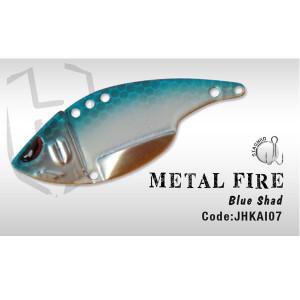 Cicada  Metal Fire 5.2CM 12GR Blue shad Herakles