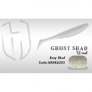 Shad Ghost 7.5cm  Sexy Shad Herakles