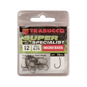 Carlige Super Specialist /15 buc/ plic Trabucco