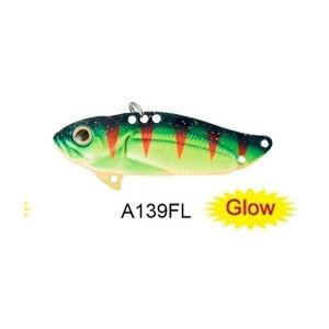 Cicada 4,5cm/9,6g Astro Vibe culoare A139FL Glow Strike Pro