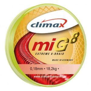 Fir Textil Climax MIG 8, galben fluo, 135m