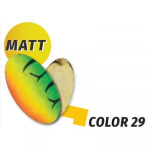 Oscilanta Herakles Spike, Culoare 29 Matt - Firetiger/Gold, 1g