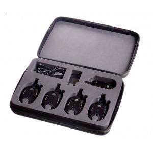 Set 3 senzori cu statie Carp Pro Q9 + incarcator