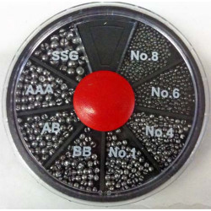 Set plumbi despicati alice Trabucco, 0.06-1.60g