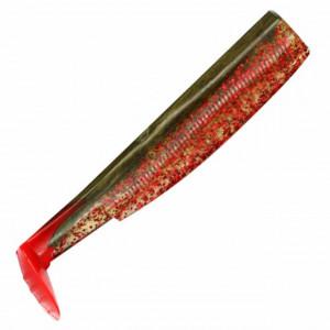 Shad Fiiish Black Minnow 160, Red-Kaki, 16cm, 3buc