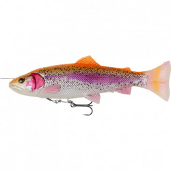 Shad Savage Gear 4D Line Thru Pulsetail Trout, 16cm, 51g Albino