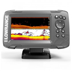 Sonar Lowrance Hook2-5 TripleShot Transducer + Chartplotter + TotalScan