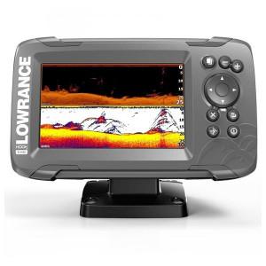 Sonar Lowrance Hook2-5 TripleShot Transducer + Chartplotter + TotalScan