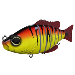 Vobler Swimbait Seven Section Red Tiger 10cm Biwaa