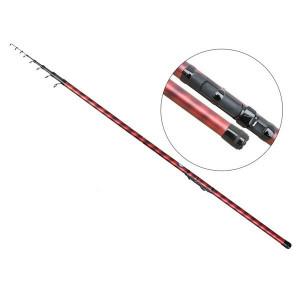 Lanseta fibra de carbon Mystic Bolo MX500 / 5m / telescopica / 5g-20g / Baracuda
