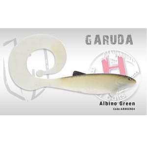 Garuda Shad 35cm 160gr Albino Green Herakles
