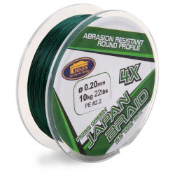 Fir Japan Braid X4 150m Verde Linea Effe