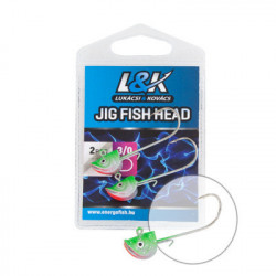 Cap de Jig L&K Fish Head, 9g