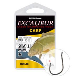 Carlige Excalibur Carp Boilies BN, 10buc
