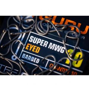 Carlige Guru Super MWG Eyed, 10buc