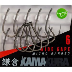 Carlige Kamakura Wide Gape Barbed 10buc/plic Korda