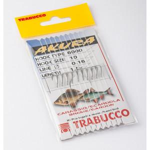 Carlige legate Trabucco Akura pentru caras, rosioara, scobar, 10buc